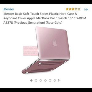 """Other - McBook Pro 13"""" hard shell case"""